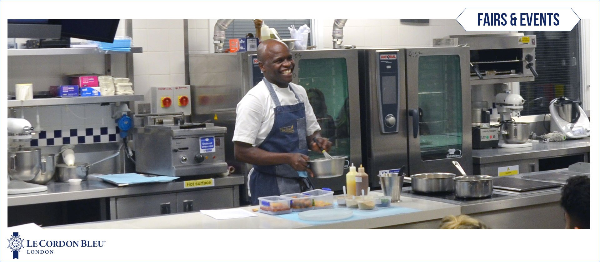 Chef Petrus Madutlela at Le Cordon Bleu London