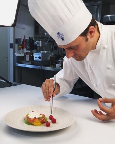 Chef cuisinier enseignant Guillaume Siegler