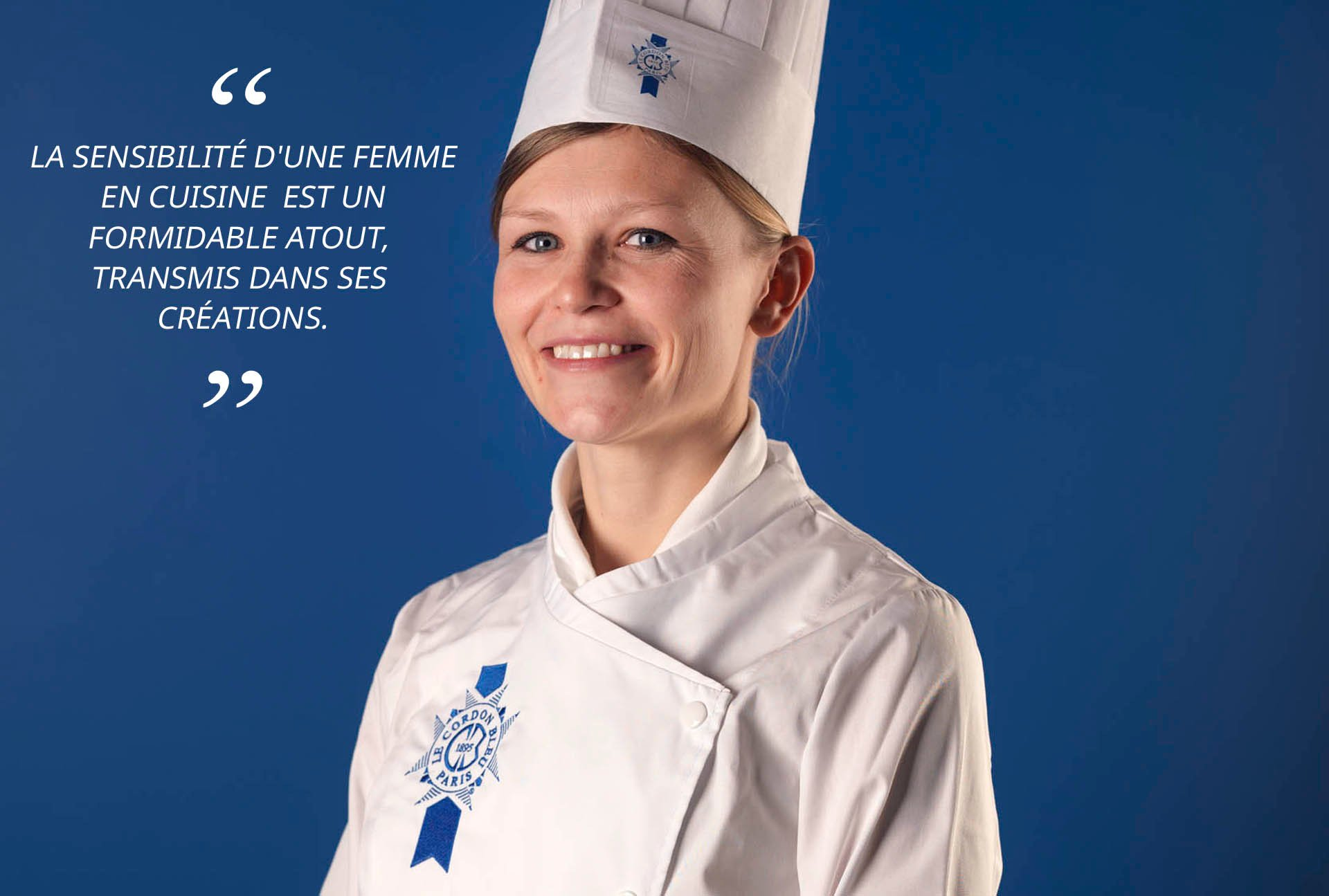 Chef de cuisine Alexandra Didier