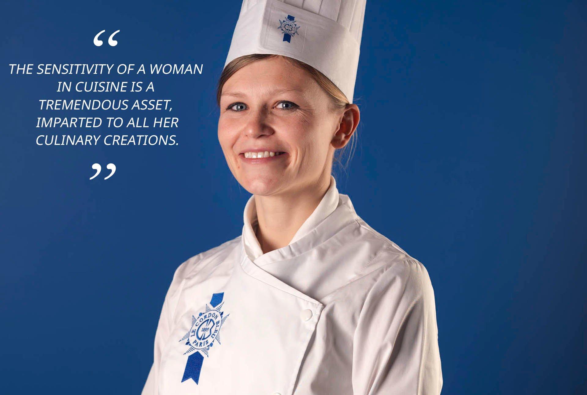 Cuisine chef Alexandra Didier