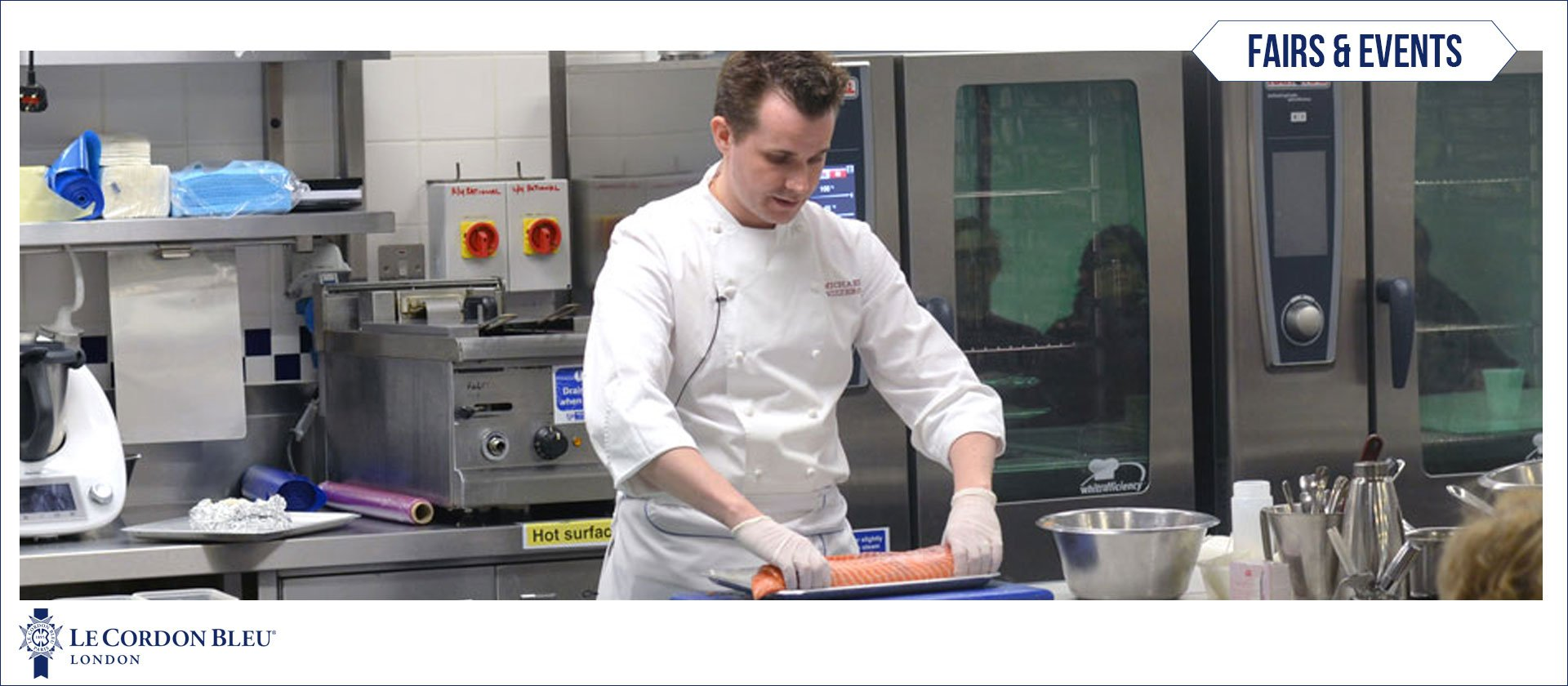 Michael Nizzero cooking demonstration
