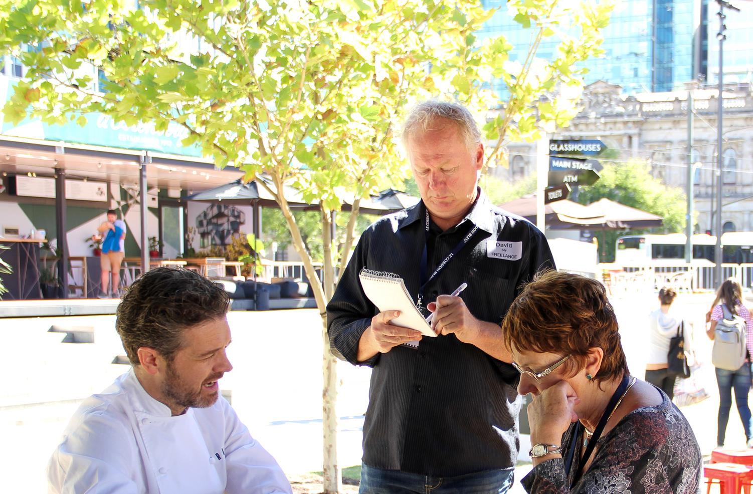 Master's students connect at Adelaide events