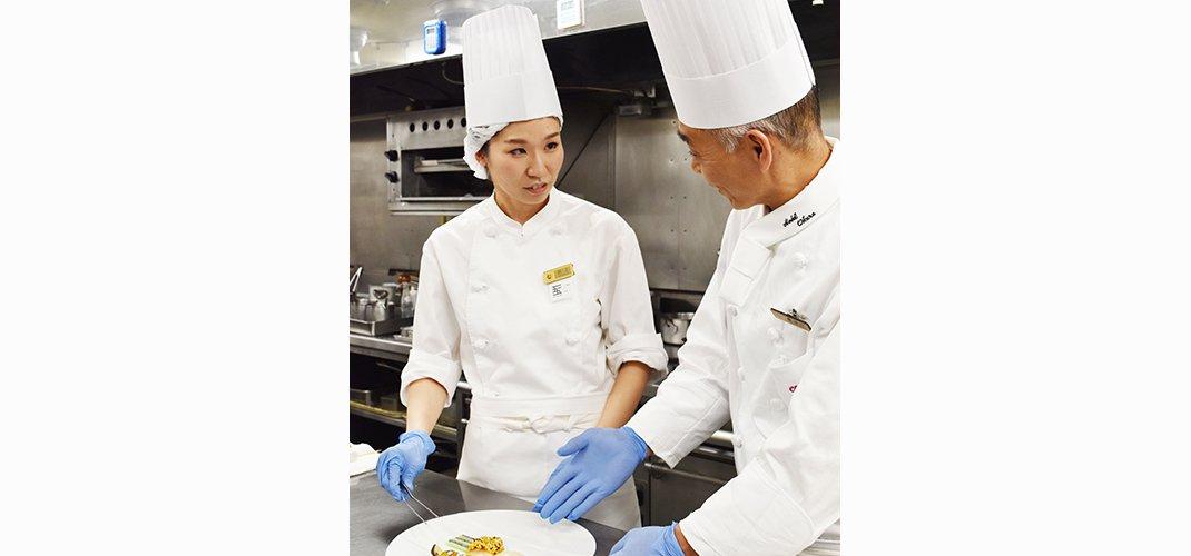 研修プログラム 体験レポート:井上ゆかり 研修先:ホテルオークラ東京「ラ・ベル・エポック/バロン オークラ」