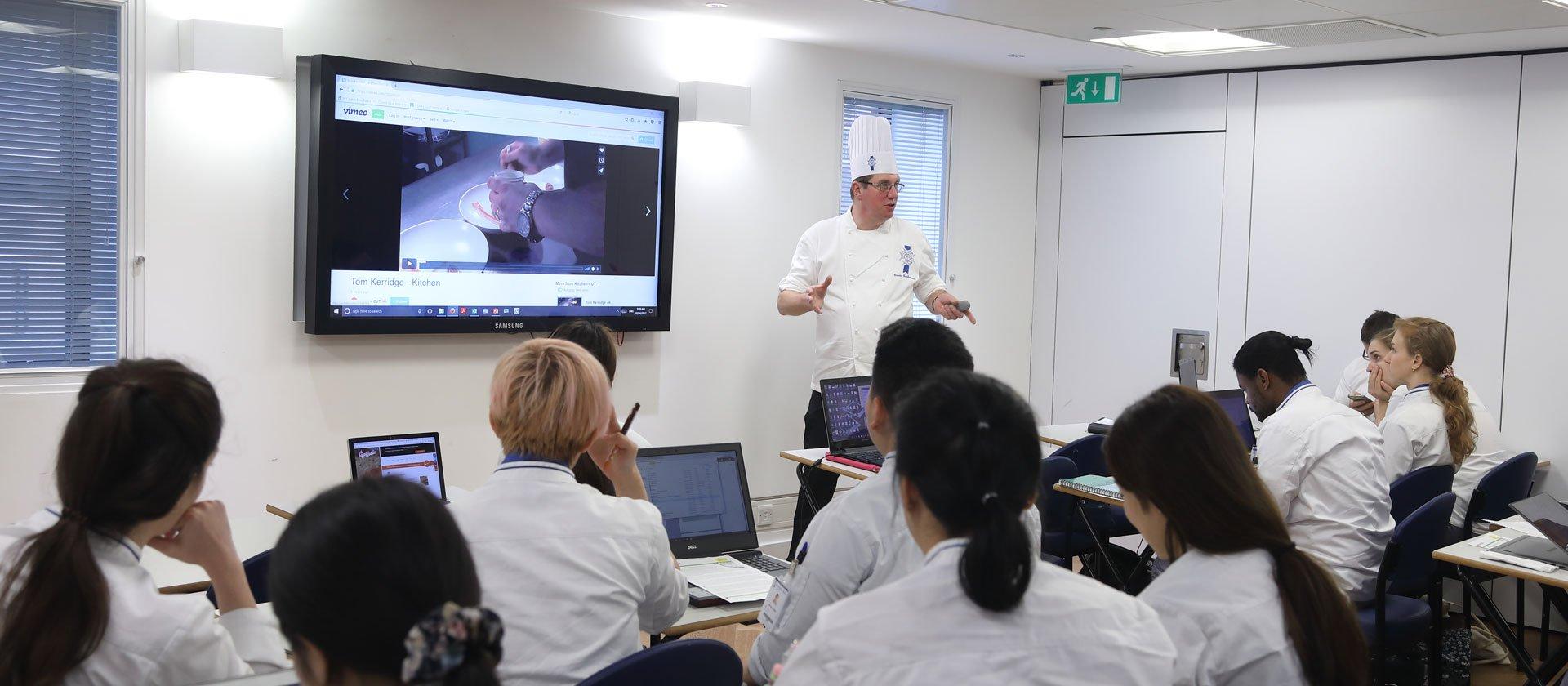 Pastry Chef Graeme Bartholomew - Le Cordon Bleu London