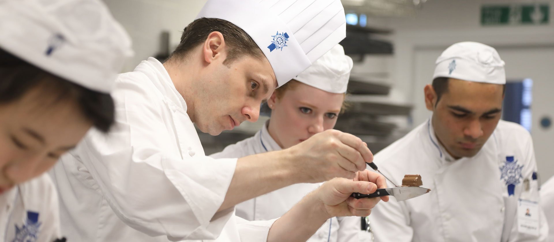 Pastry Chef Nick Patterson - Le Cordon Bleu London