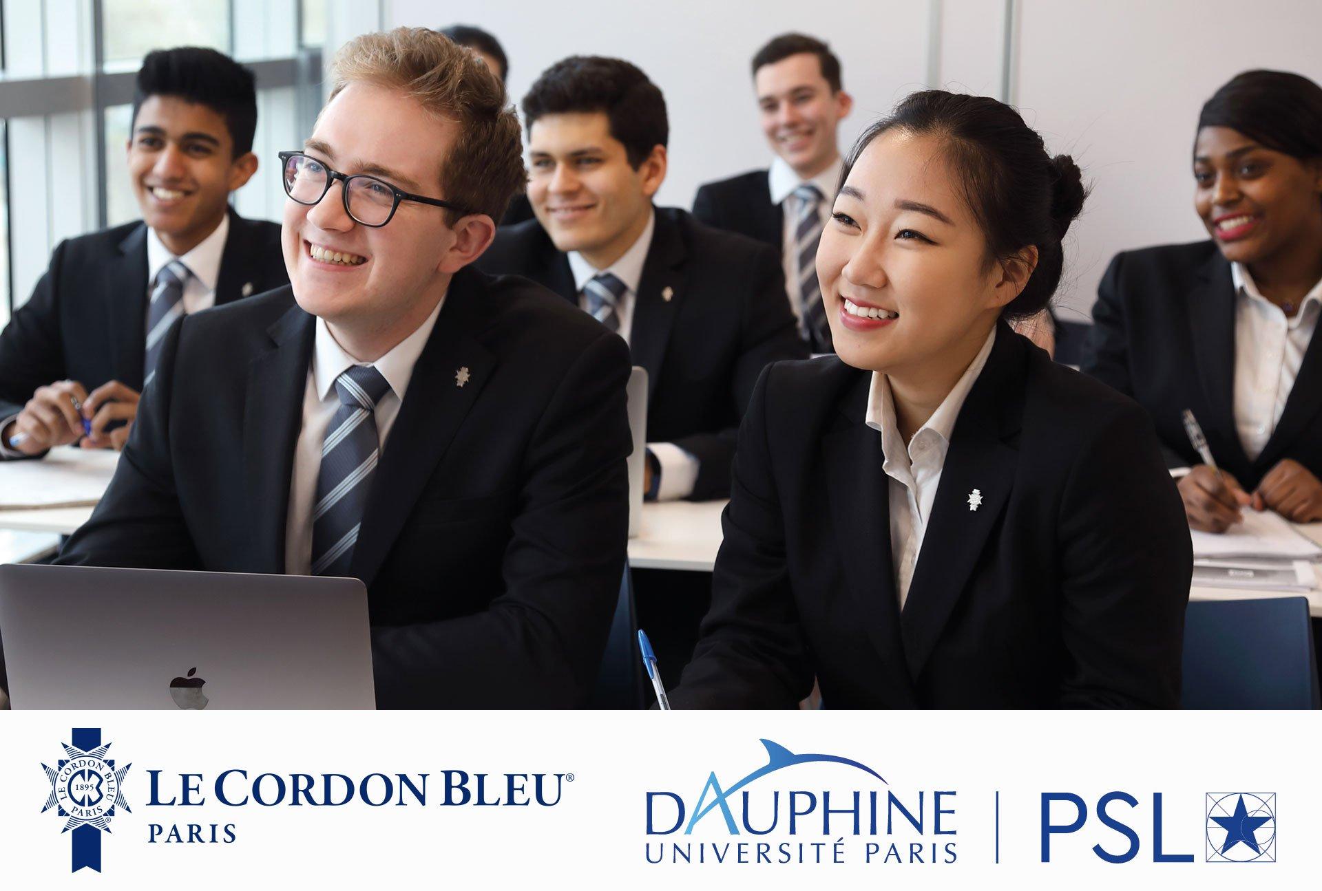 Double Diplôme Le Cordon Bleu Paris et Université Paris-Dauphine