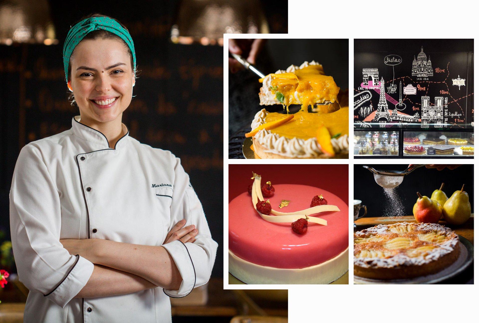 Marina Correa da Cunha, diplôme de cuisine 2013