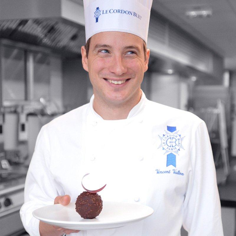 Vincent Valton, chef pâtissier