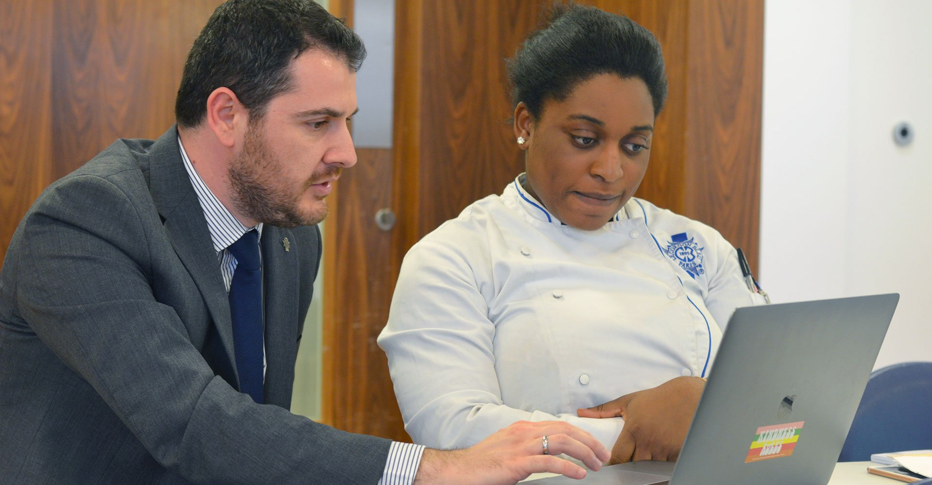 Senior lecturer Thomas Kyritsis - le cordon bleu london