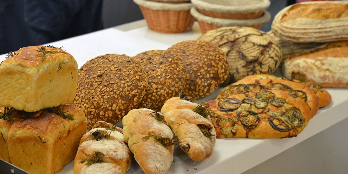 bread baking demonstration at Le Cordon Bleu London