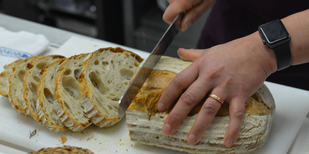 Slicing Bread - Paul Rhodes Demonstration at Le Cordon Bleu London