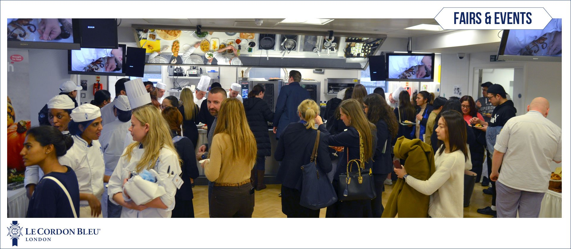 Student Social evening at Le Cordon Bleu London