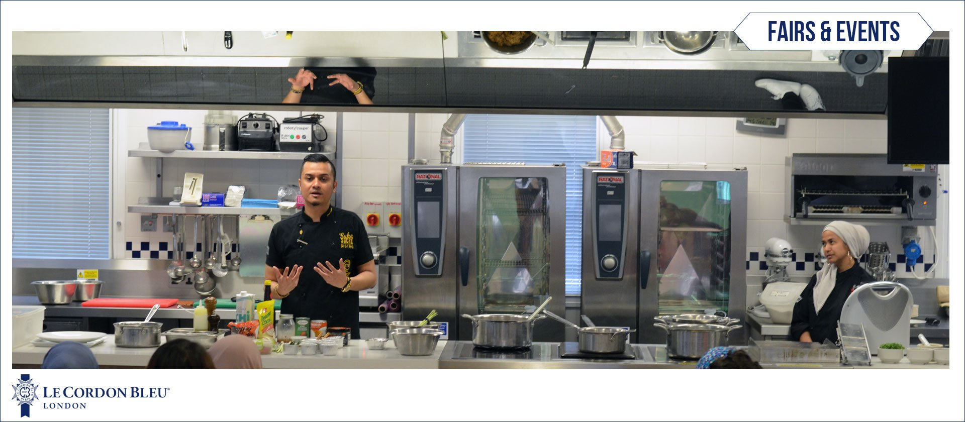 Dato' Fazley Yaakob: Guest Chef Demonstration at Le Cordon Bleu London