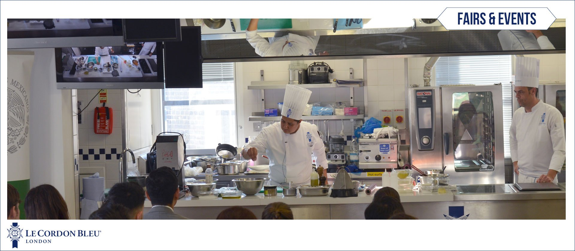 Mexican cuisine demonstration at Le Cordon Bleu London