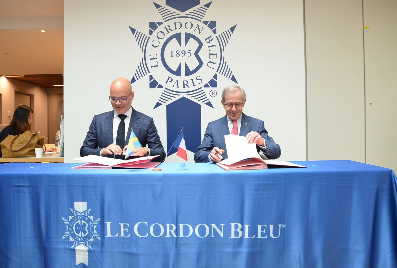 Partnership Le Cordon Bleu Electrolux