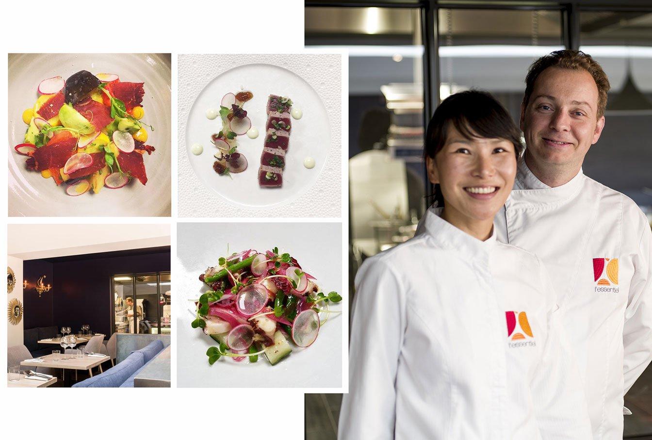 Mi-Ra Thuillant diplômée en cuisine restaurant L'Essentiel
