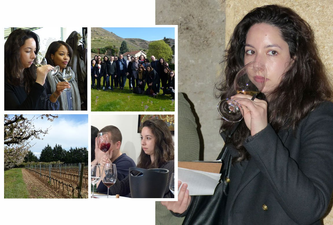 Ana Maria Lowe Manolis wine and management graduate