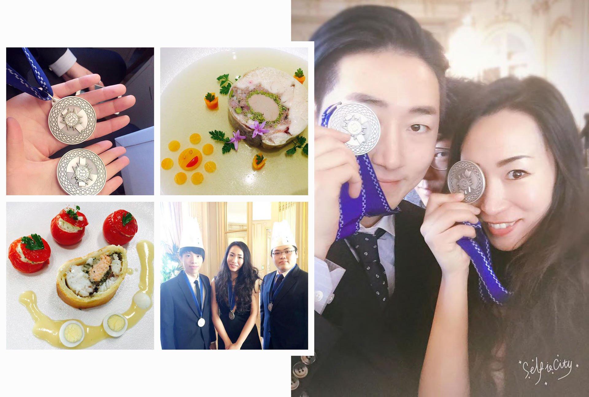 Yanan Ren graduate Cuisine Diploma 2016