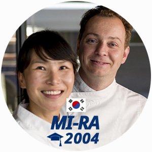 Mi Ra Thuillant diplome cuisine 2004