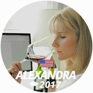 Alexandra Newman diplome vin management 2017