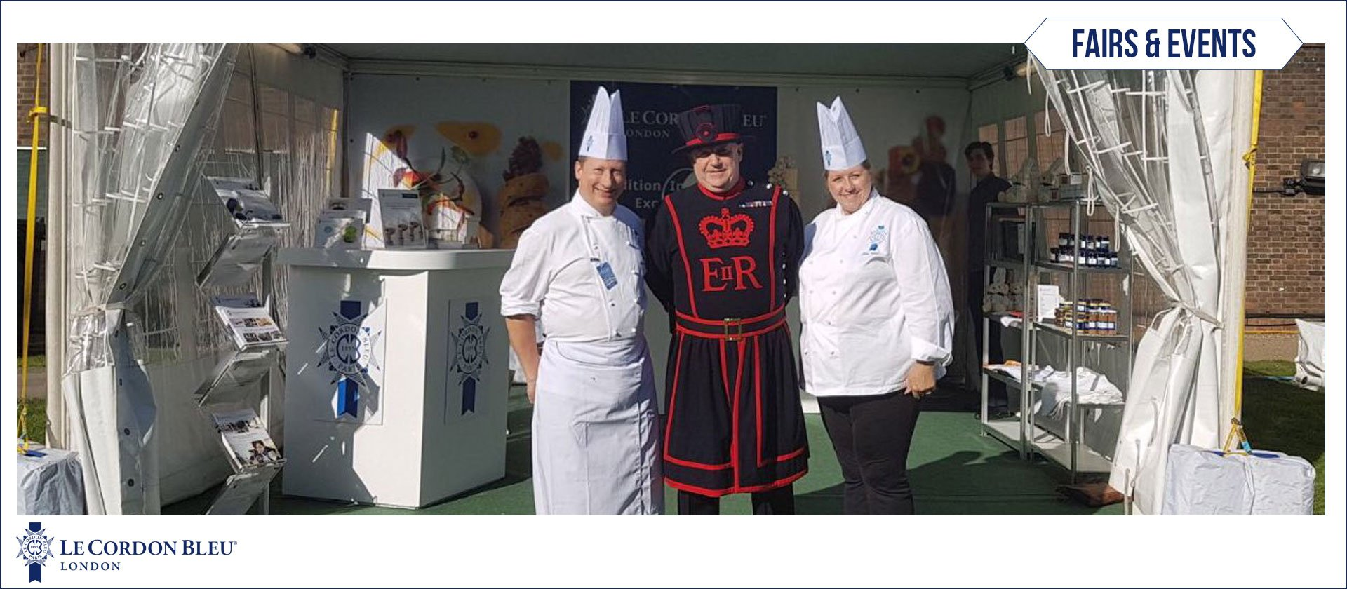 Le Cordon Bleu at Tower of London Festival 2018