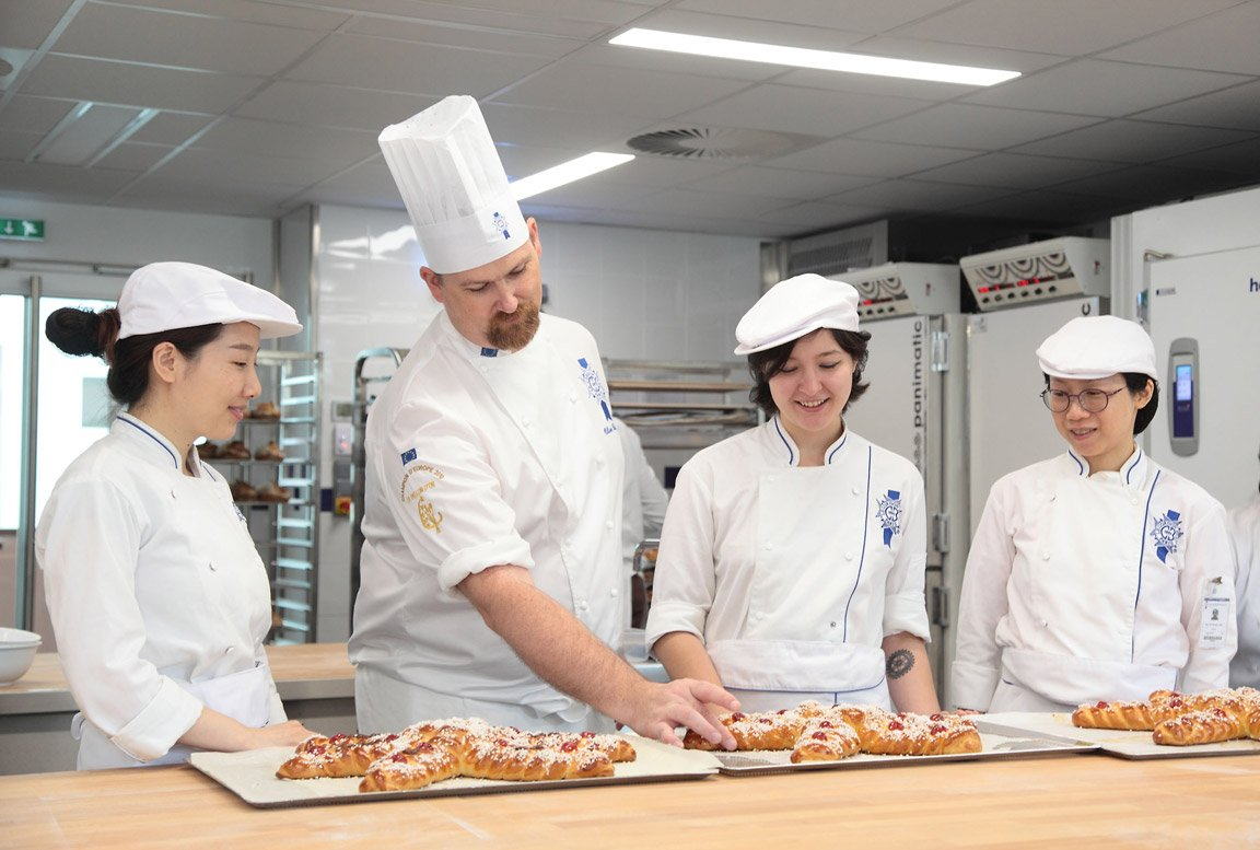 Chef Olivier Boudot talks about the Boulangerie Diploma at Le Cordon Bleu Paris