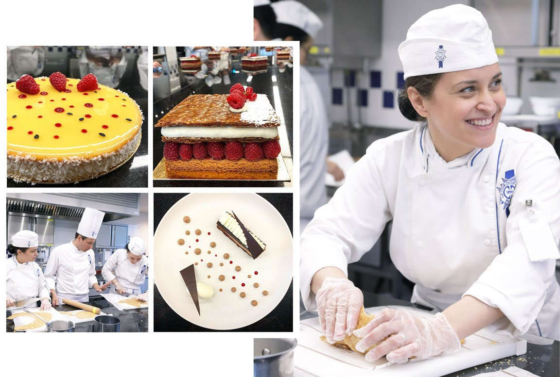 Nina Aranda, pastry diploma student