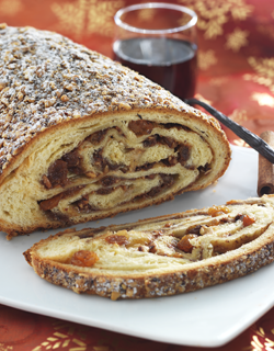 Le Stollen - a christmas recipe from Le Cordon Bleu Paris