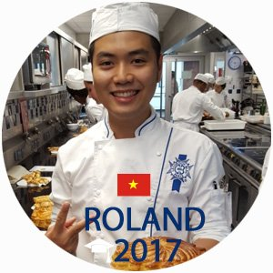 Roland Nguyen Pastry Diploma