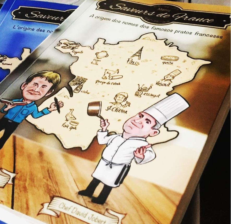 Lançamento livro Saveurs de France