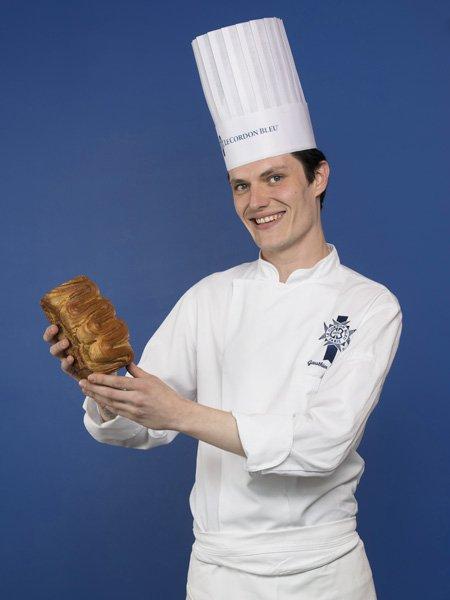 Chef Gauthier Denis, chef enseignant Boulanger
