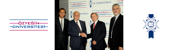 Özyeğin University and Le Cordon Bleu Sign a Cooperation Agreement