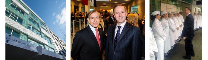 Le Cordon Bleu ouvre ses portes en Nouvelle Zélande