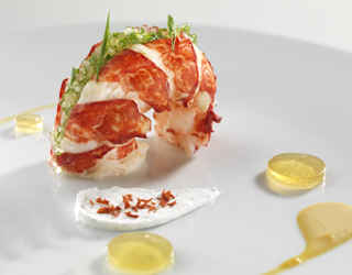 Recipe - Lobster trio and tapioca pearls