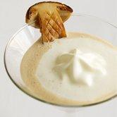 セップ茸のヴルーテ カプチーノ仕立て