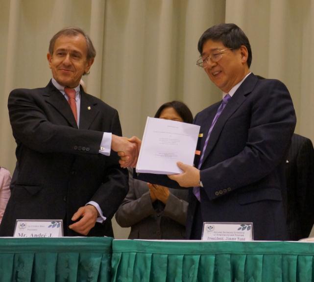 ル・コルドン・ブルーが台湾の国立高雄餐旅大学と提携