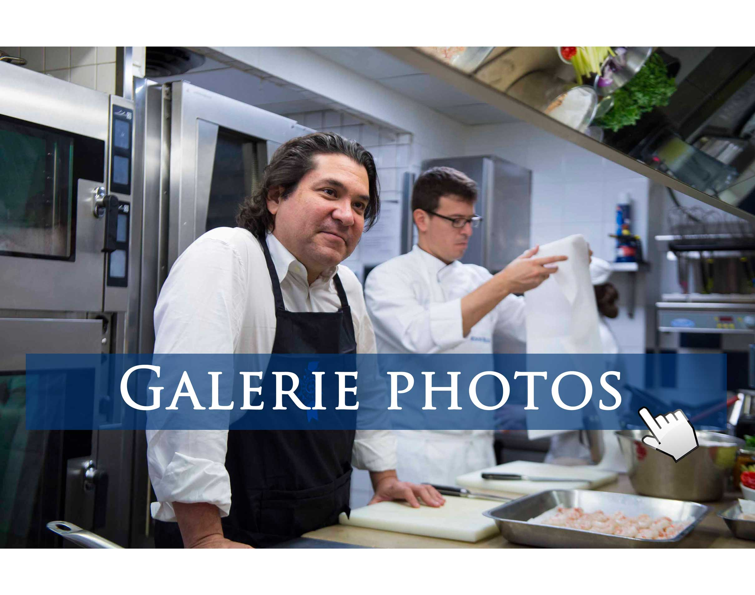 Galerie photos Gaston Acurio à Le Cordon Bleu Paris