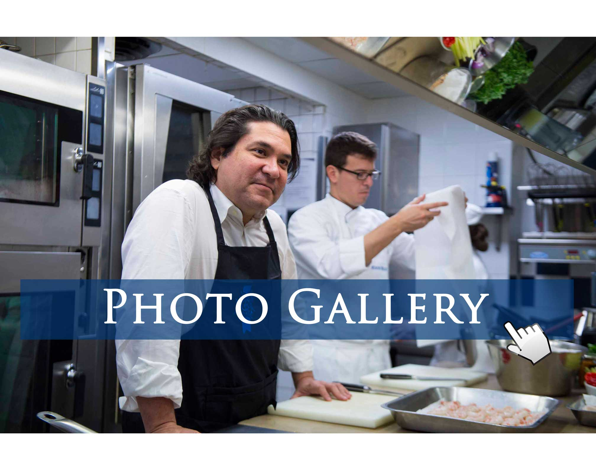 Gaston Acurio at Le Cordon Bleu Paris