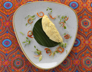 Recipe - Omelette with Spiced Herbs