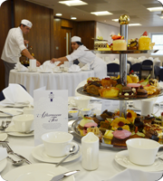 Tea Party Superior Pastry Students
